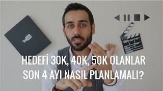 #PK31 Hedefi 30K, 40K, 50K Olanlar Son 4 ayı Nasıl Planlamalı?