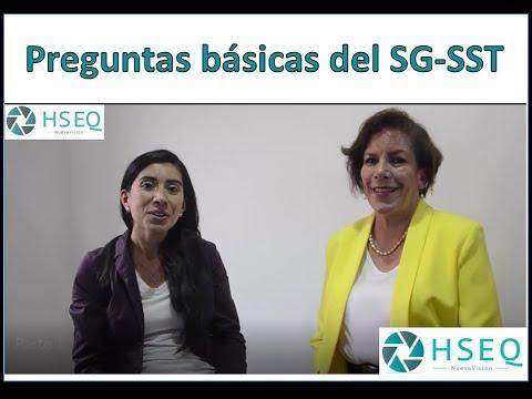 Preguntas básicas del SG-SST Sistema de Gestión de Seguridad y Salud en el Trabajo