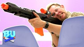 NERF Sniper Challenge!