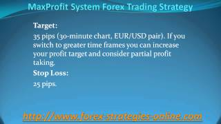 MaxProfit Forex Trading Strategy