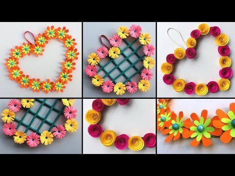 3 Amazing DIY !!! Beautiful Heart Wall Hanging Ideas | Room Decor Crafts |Valentine Special Gift !!