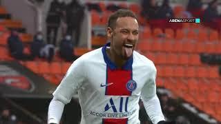 LIGUE 1: Lorient - PSG 3:2 (1:1) / 31.01.2021.