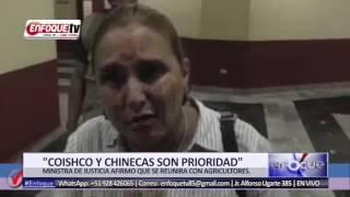 MINISTRA DE JUSTICIA ANUNCIO QUE LA PRIORIDAD EN ANCASH AHORA SERAN COISHCO Y CHINECAS