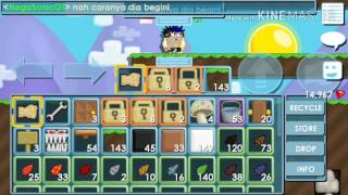 Cara membuat ''HELP BREAK'' di growtopia