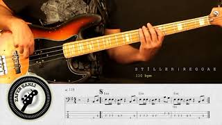 Zafer Şanlı Bas Gitar Dersleri Stiller Reggae 2 110 Bpm