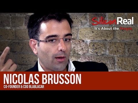 Nicolas Brusson - Co-Founder & COO of BlaBlaCar | Silicon Real