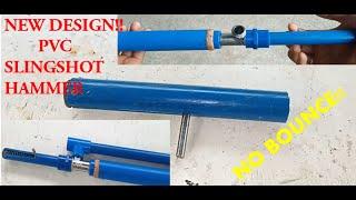 NEW HOMEMADE PVC SLINGSHOT HAMMER for pvc airgun