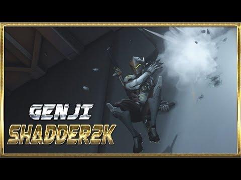 Shadder2k Best Genji Moments #3 - Overwatch Montage [OV] thumbnail