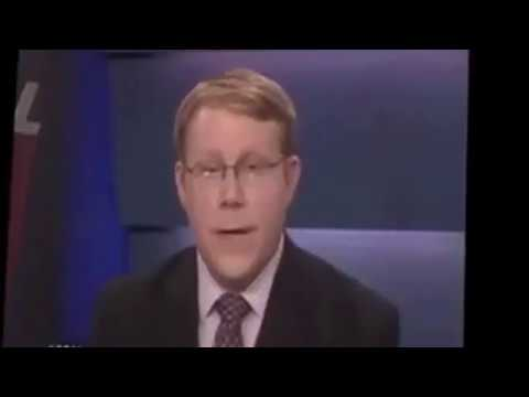 Famous news anchor cannot control his laughter after pronouncing pig s name