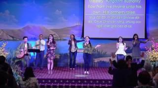 Tôn Vinh Vua Giê-Xu & Vua Đời Đời- Living God Church Worship 03-20-2016