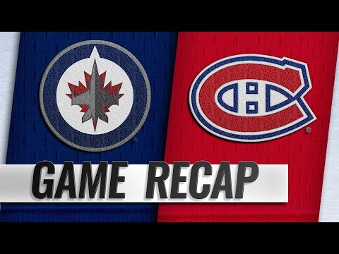 Drouin, Canadiens defeat Jets in 5-2 win