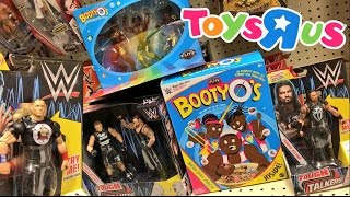 Download Video INSANE WWE CHRISTMAS TOY SHOPPING FREAKOUT! FAT GUY ROASTS WWE TOUGH TALKERS AND ELITES AT TOYSRUS! MP3 3GP MP4