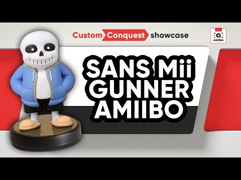Sans (Undertale) amiibo - Custom Conquest