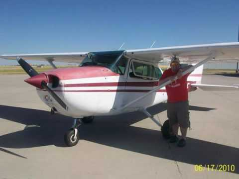 Light Airplane Trip to Cutbank, MT