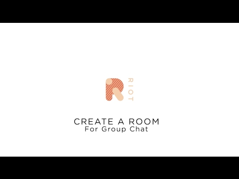 Create A Room For Group Chat