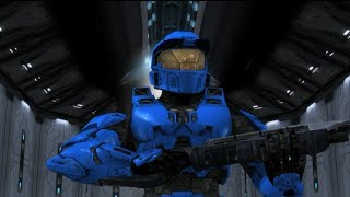 Repeat youtube video Red vs. Blue - This is Sparta (300/RvB Parody)