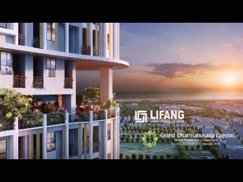 Grand Dharmahusada Lagoon Architectural CGI Animation Walkthrough