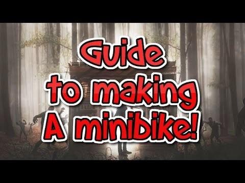 7 Days to Die: How to make a minibike