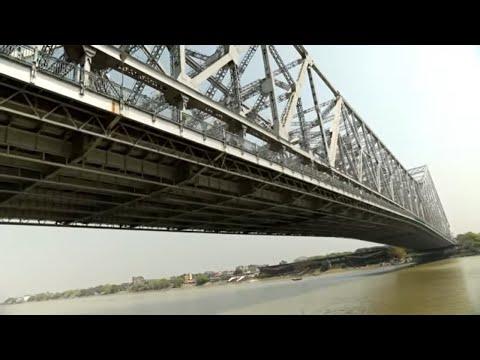 Howrah Bridge Kolkata India | Full HD | Tour & Travel |هورا