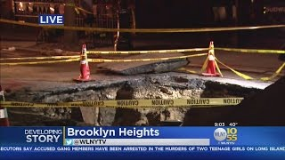 Cleanup And Repairs Underway In Brooklyn