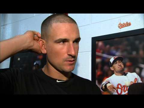 Ryan Flaherty and Buck Showalter discuss Flaherty