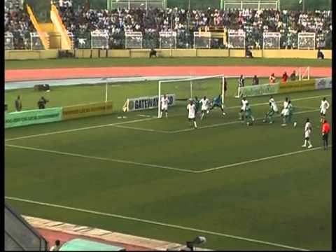 WAFU Cup Final 2010 Nigeria vs Senegal Pt.1