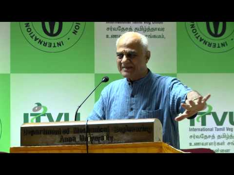 IVU 42nd world veg fest at chennai - R Venkatesan speech