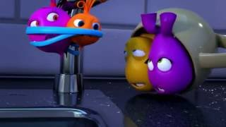 Прикольный мультик «Овощная вечеринка» - Танцы под дождем (59 серия)