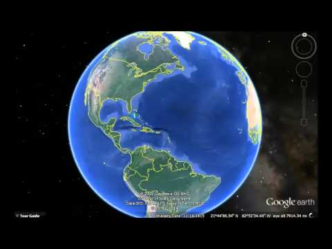 Jamaica Google Earth View