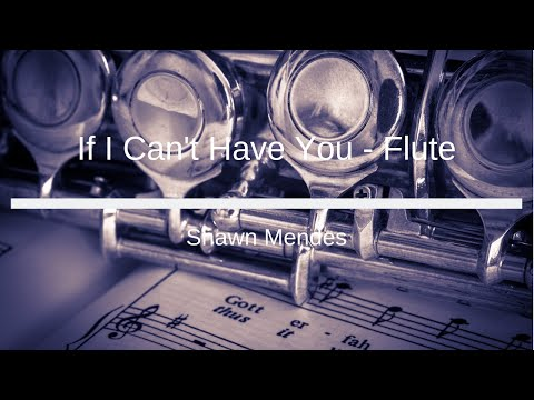 If I Can't Have You Flute Notes
