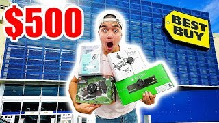 THE $500 BEST BUY CHALLENGE!!