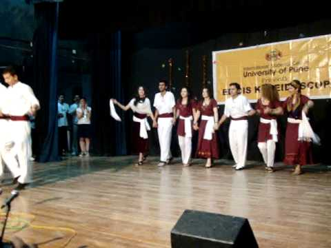 iranian dance in pune university in india