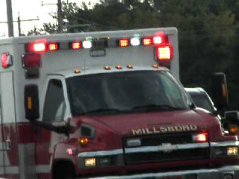 SUSSEX COUNTY AMBULANCE C-83 TRANSPORTING MILLSBORO