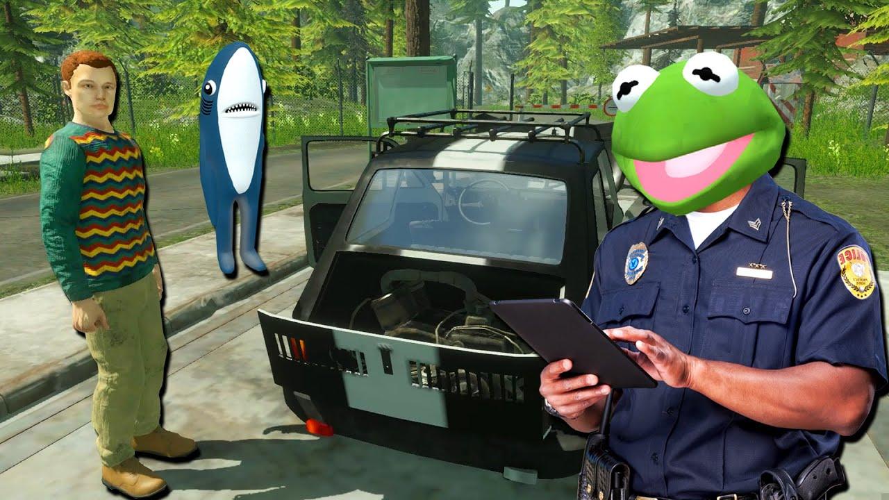 กบหลามลองเป็นตำรวจตรวจคนเข้าเมือง - Contraband Police Prologue