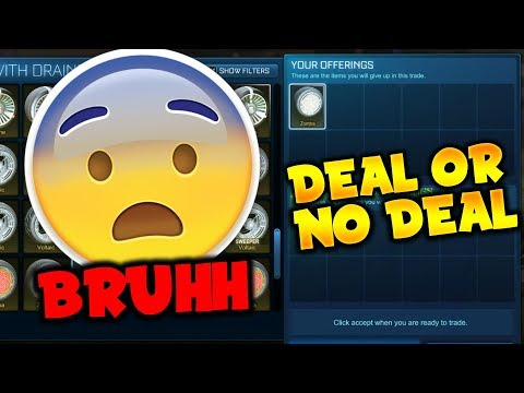 "WHITE ZOMBAS ON THE LINE! | ""DEAL OR NO DEAL"" BLIND TRADING W/ LMG HD"