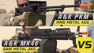 Best Airsoft SAW! Russian PKM VS. The Mk46 SAW | Airsoft Megastore