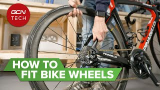 How To Remove Aฑd Fit Road Bicycle Wheels