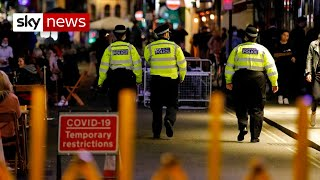 Coronavirus: Police could be given access to contact-tracing details