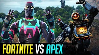 Apex Legends VS Fortnite: differenze tra i battle royale del momento