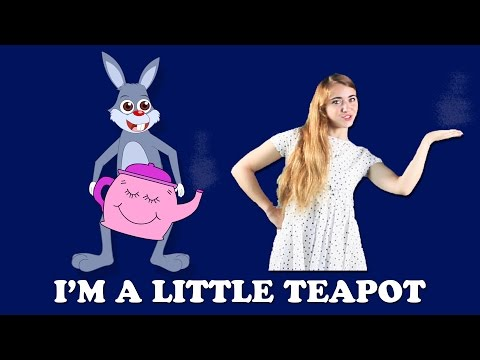 I'm a Little Teapot with Lyrics and Actions  Action Songs for Children  British Kids Action Songs