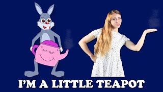 I'm a Little Teapot with Lyrics and Actions | Action Songs for Children | British Kids Action Songs