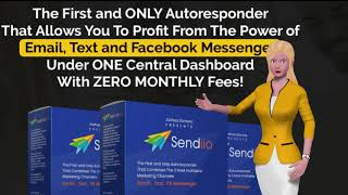 sendiio autoresponder combines email, SMS and Facebook messenger marketing, all on one place