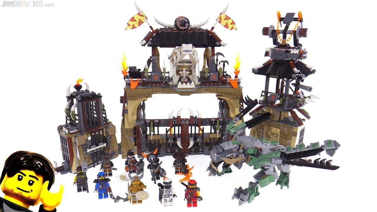 Verwonderlijk LEGO Ninjago Dragon Pit review! 70655 - YouTube DM-18