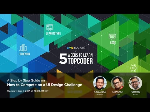 A Step by Step Guide on How to Compete on a UI Design Challenge
