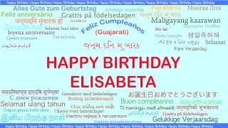 Elisabeta   Languages Idiomas - Happy Birthday