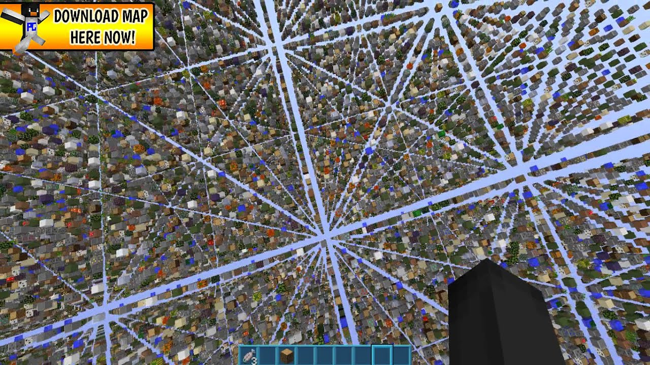 Minecraft PC SkyGrid Map Download YouTube - Maps fur minecraft pc