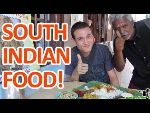 South Indian Food in Kuala Lumpur (Vishalatchi Banana Leaf Meal)