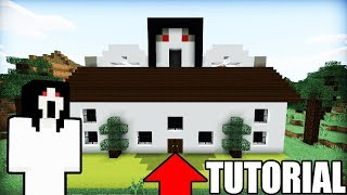 "Minecraft: How To Make The House Of Slenderina ""Slenderina House Tutorial"""