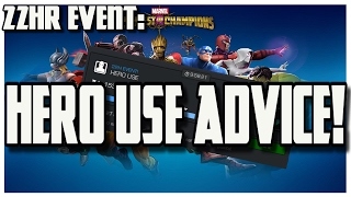 Hero Use Advice - 22hour Solo Event [Marvel Contest of Champions]