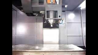 Вертикальный фрезерный обрабатывающий центр Winner VMC-L1601. Video2.